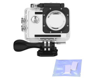 Vemico Waterproof Case Housing for Action Camera AKASO EK5000 EK7000/ DBPOWER X1/ Lightdow LD4000/ Campark 4K/ WiMiUS Q1 Q2/ SJ4000 with Anti-fog Inserts