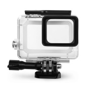 Rhodesy GoPro HERO Waterproof Housing Protective Case Includes Bracket & Screw for GoPro Hero 5 Action Camera