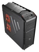 Aero Cool X-predator X1 Black Midi Tower Gaming Case - Usb 3.0
