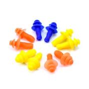 Pinzhi 5 Pairs Swimming Mushroom Ear Plug Soft Silicone Waterproof Protector Tool