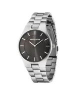 Police Men's Gold Dial Silver Stainless Steel Bracelet Watch 14640ms/61m