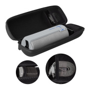 ProCase UE BOOM 2 Case, Hard EVA Case Travel Storage Carrying Pouch Bag for Ultimate Ears UE BOOM 2 Wireless Bluetooth Portable Speaker, Fits USB Cable and Wall Charger/with Holding Strap -Black