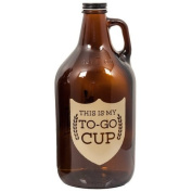 Kegerator.com GROWLER1KIT This Is My To-Go Cup Growler 1890ml