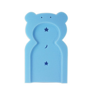 First Steps Baby Bath Time Bath Tub Support Sponge In Teddy Bear Shape For Babies From born