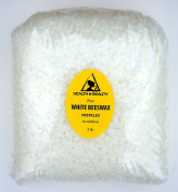 White Beeswax Bees Wax Organic Pastilles Beads Premium Prime Grade A 100% Pure 950ml, 0.9kg