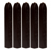 SUPPION Wine Red Manuscript Sealing Seal Wax Sticks Wicks for Postage Letter 5Pcs