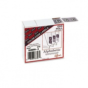 Smead 66726 - Barkley-Compatible Labels, Letter G, 1 x 1-1/2, Lavender, 500/Roll-SMD66726