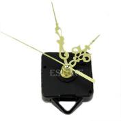 Diy Clock Clock Parts - Quartz Clock Movement Mechanism Gold Hands DIY Replace Repair Parts Kit New - Clock Mechanism