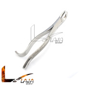 LAJA IMPORTS 18R DENTAL EXTRACTING FORCEPS, HOOK HANDLE