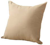 JUNGEN Square Pillowcase Cushion Cover for Home Office Bar Sofa Decoration Pure Colour Khaki