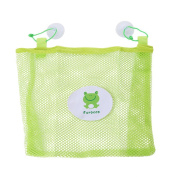 HS Mesh Bath Toy Organiser Perfect Net for Bathtub Toys with 2 Suction Cups