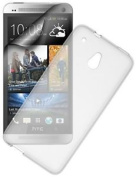 Pro-tec Frosted Tpu Case Cover With Screen Protector For Htc One Mini - Clear