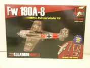 Squadron Models-----1/72 Scale German WW II Fw 190A-8 Aircraft---Plastic Model