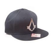 Assassin's Creed Syndicate Bronze Brotherhood Crest Snapback Baseball Cap Black