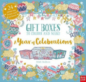 Gift Boxes to Colour and Make