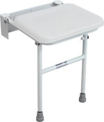 Aidapt Solo Compact Padded Shower Seat With Leg Vb544w