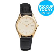 Accurist Men's Quartz Leather Strap Watch. From The Official Argos Shop On