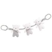 Silvercloud Baby Bear Made With Love Travel Charm Jewellery