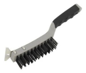Sealey Wire Brush With Steel Fill & Scraper Wb103