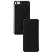 New Case It Apple Iphone 5c Slimline Leather Effect Book Folio Flip Case Bl