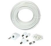 Philex Slx Television Extension Kit 15 M White
