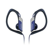Panasonic Rphs3 Water And Sweat Resistant Headphones Jogging Outdoor Use - Blue