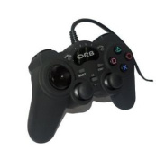 New! Orb Wired Controller Black For Playstation 3 Ps3