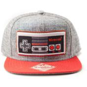 Nintendo Original Embroidered Retro Nes Controller Snapback Baseball Cap