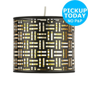 Collection Laser Cut Shade - Black And Gold. From The Argos Shop On