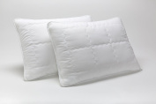 Mabel Home Kids Baby Toddler Pillow with Zipper Washable Pillowcase , White,36cm x 46cm ,