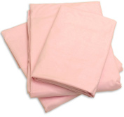 Cot Sheets (Fitted, Flat, Sets), 1 Fitted Cot Sheet - Pink