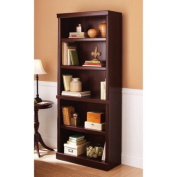 Better Homes and Gardens Ashwood Road 5-Shelf Bookcase, Cherry