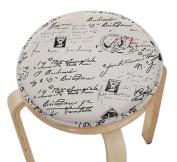 Cloth Cushion Round Stool Cushion Warm Sponge Pad Bar Stool Mat