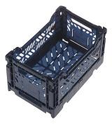 AY-KASA Collapsible Storage Bin Container Basket Tote , Folding Basket CRATE Container : Storage , Kitchen , Houseware Utility Basket Tote Crate Mini-BOX