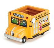 Adorable School Bus Planter Great Gift For Teachers, School Bus Drivers,Home Decor