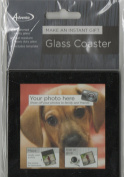PUT YOU OWN PICTURE IN THIS GLASS COASTER. GREAT GIFT IDEA!!!