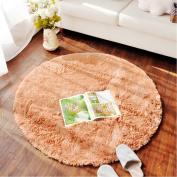 LOCHAS 1.2m Round Area Rugs Super Soft Living Room Bedroom Home Shag Carpet