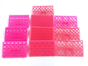 10pcs Cake Fondant Embossing Mould Cookie Icing Cutters Mould Baking Tools