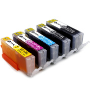 Sotek 5 Pack Edible Ink Cartridges PGI-270 CLI-271 (1 Set, No Grey) for MG6820, MG6821,MG6822, MG5720, MG5722, MG5721 Cake Printing