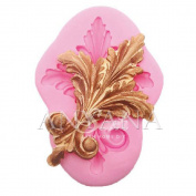 Anyana large Filigree Vintage Scroll Silicone Moulds Fondant Cake Moulds Candy Rubber Relief clay