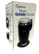 Capresso Blade Grinder For Grinding Coffee and Spices - Black