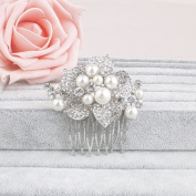 Ammei Vintage Tiny Hair Comb For Bridal Or Home Coming Special Occasion Side Comb