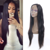 Lace Front Wigs 8A Brazilian Straight Hair Lace Wigs Straight Human Hair Full Lace Wigs for Black Women