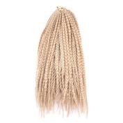 Wanya 36cm Box Braid Sythetic Hair Extension 22roots/pec Crochet Twist Braiding Hair