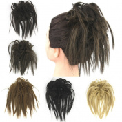 Deniya Messy Style Ponytail Hair Extension Synthetic Hair Pieces for Women