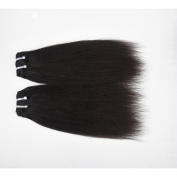 ChisonHair Brazilian Virgin Hair YAKI Straight 3 Bundles/lot Weight(100g+/-5g)/Bundle Grade 8A Unprocessed Virgin Human Hair Weave Weft Natural Colour Tangle-free