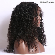 """Chisonhair Lace front wigs 150% Density Human Hair Wigs for Black Women with Baby Hair Kinky Curly Brazilian Virgin Human Hair Wigs Natural Colour 8""""-26"""" in Stock"""