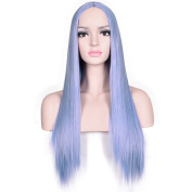 Deifor 80cm Long Straight Centre Parting Synthetic Hair Cosplay Halloween Wigs
