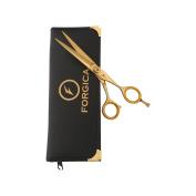 Professional Salon Shears Hairdressing Scissors Barber Shears Gold 15cm
