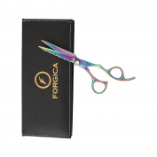 Professional Salon Shears Star Diamond 18cm Hairdressing Scissors 100% Top Quality